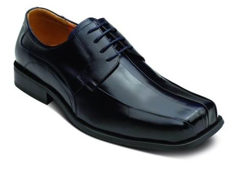 chaussure homme noire carrée