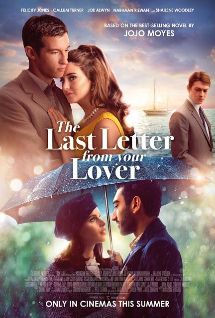 Affiche UK pour The Last Letter From Your Lover de Augustine Frizzell