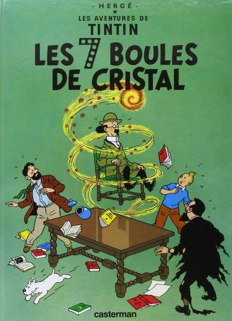 Les aventures de Tintin, tome 13 : Les 7 boules de cristal, Hergé