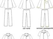 Variations autour pyjama grand-père
