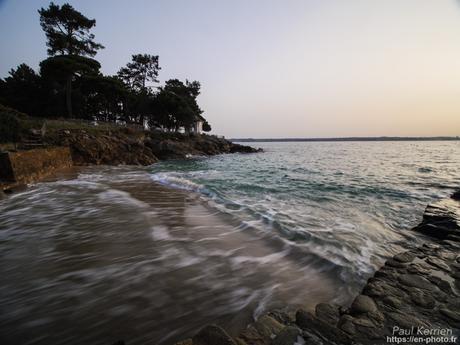 fin de nuit au bord de la Rivière de #PontLAbbé #Bretagne #Finistère