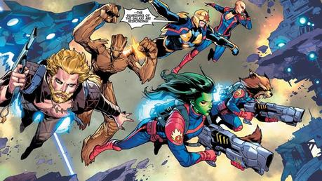 Illustration de Guardians of the Galaxy #13