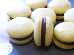 Macarons chocolat noir