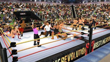 Télécharger Gratuit Wrestling Revolution 3D APK MOD (Astuce) 5