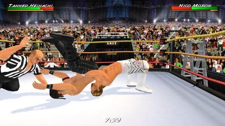 Télécharger Gratuit Wrestling Revolution 3D APK MOD (Astuce) 2