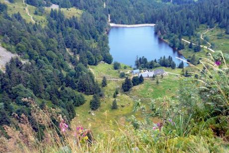 Lac des Truites vu du Gazon du Faing © French Moments