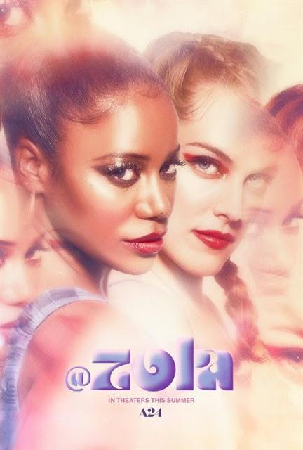 Nouvelle affiche US pour Zola de Janicza Bravo