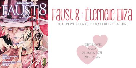 Faust 8 : Éternelle Eliza • Hiroyuki Takei et Kakeru Kobashiri