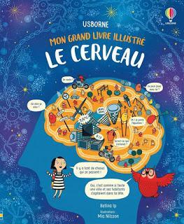 Mon grand livre illustré: Le cerveau