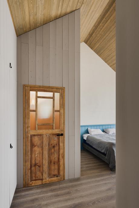 maison sur la côte baltique cabanon pécheur chambre