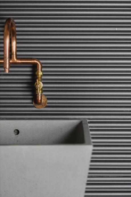 robinet diy tube cuivre plomberie style atelier industriel usine