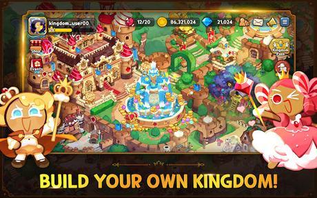 Télécharger Cookie Run: Kingdom - Kingdom Builder & Battle RPG APK MOD (Astuce) screenshots 3