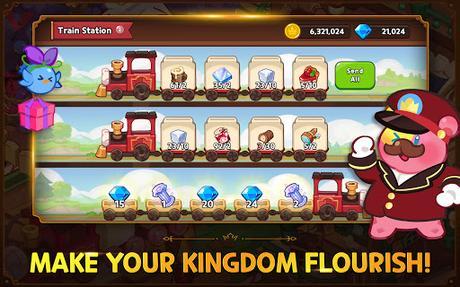 Télécharger Cookie Run: Kingdom - Kingdom Builder & Battle RPG APK MOD (Astuce) screenshots 4