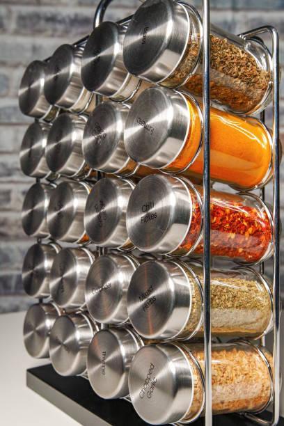 range épices nettoyage de printemps cuisine