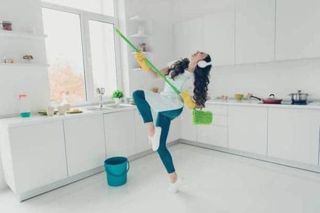 nettoyage de printemps cuisine