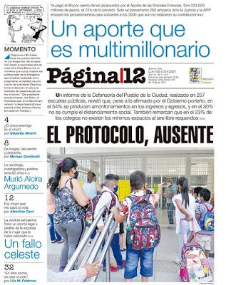 Mesures sanitaires au clignotant à l'école à Buenos Aires [Actu]