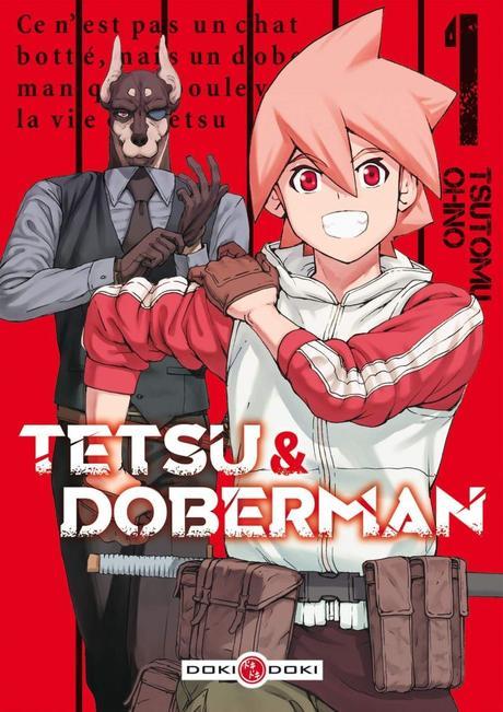 Tetsu & Doberman T01 de Tsutomu Ohno