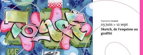 𝗦𝗞𝗘𝗧𝗖𝗛, de l'esquisse au graffiti à L'Arsenal de Metz