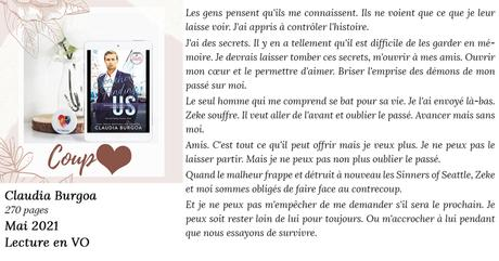 Somehow Finding Us (Second Chance Sinners #2) de Claudia Burgoa [Lecture en VO]