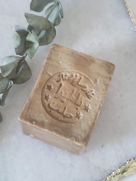 Zoom sur le savon d'Alep