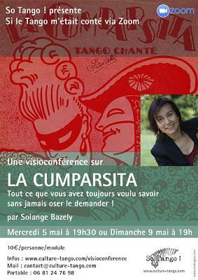 Tout savoir sur La Cumparsita grâce à Solange Bazely [ici]