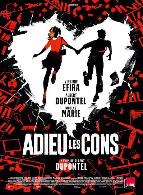 ADIEU LES CONS de Albert Dupontel, le 21 octobre au Cinéma - Affiche