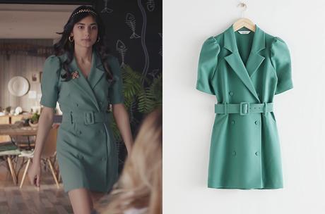 DEMAIN NOUS APPARTIENT : la robe verte de Camille dans l'épisode 921