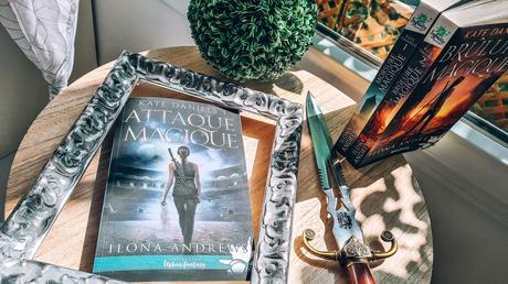 [Lecture] Kate Daniels 3 Attaque Magique où le roman qui me rend accro à la série !