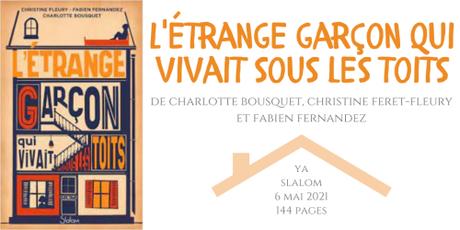 L'étrange garçon qui vivait sous les toits • Charlotte Bousquet, Christine Feret-Fleury et Fabien Fernandez