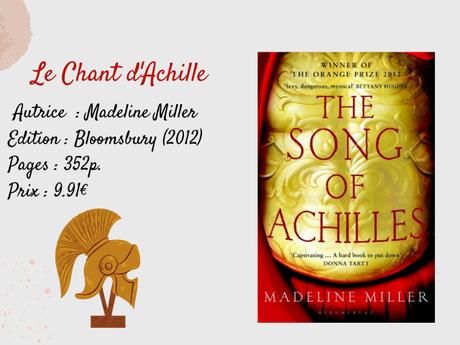 [Chronique] Le Chant d'Achille - Madeline Miller