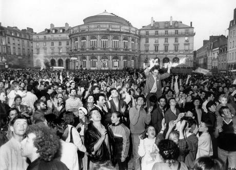 10 mai 1981. François Mitterrand président.