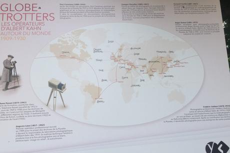 « Globe-Trotters » Les opérateurs d'Albert Kahn « Autour du Monde 1909-1930 au Parc de Sceaux-