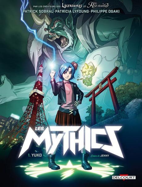 Série Les Mythics – Tome 1 à 10. (BD)