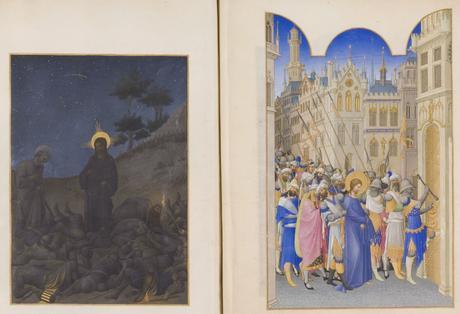 Les_Tres_Riches_Heures_du_duc_de_Berry Musee Conde Chantilly MS 65 fol 142v-143 Limbourg 1411-16