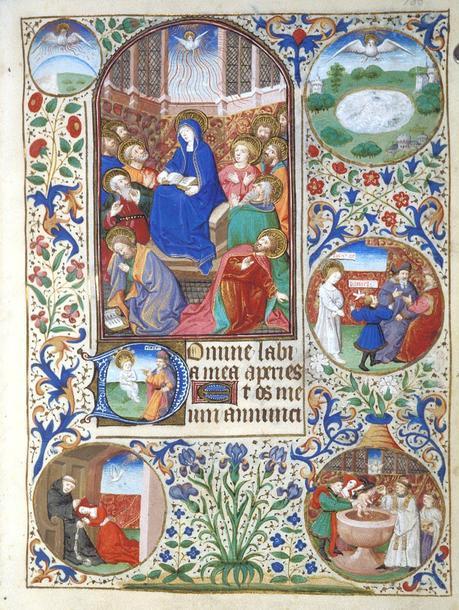 1440-50 BL Egerton MS 2019 fol 135r Dunois Master