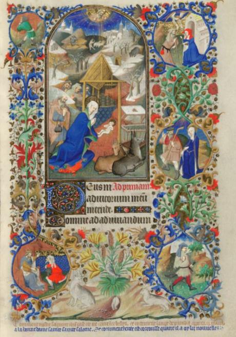 Bedford Hours 1410-30 Natvite_British_Library_Add_MS_18850_f 65r detail