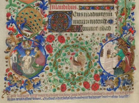 Bedford Hours 1410-30 Visitation detail_British_Library_Add_MS_18850_f54v