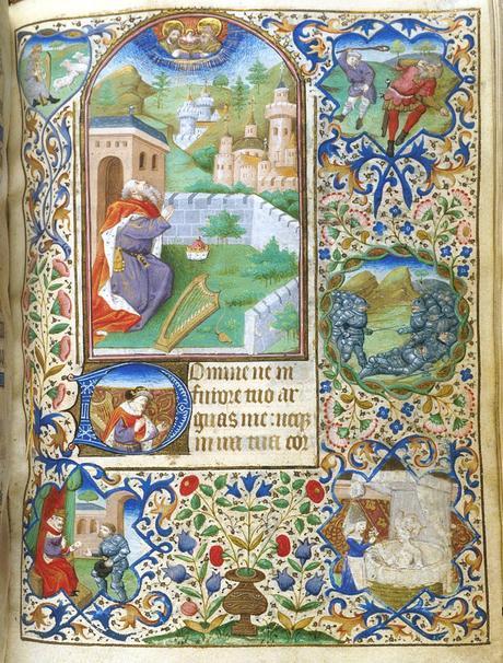 1440-50 BL Egerton MS 2019 fol 104 David Dunois Master