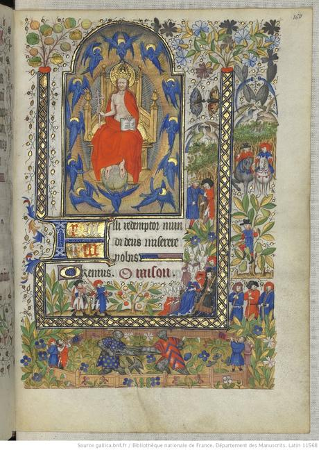 Heures de Marguerite d'Orleans 1430 ca BNF Latin 1156B fol 160r Gallica