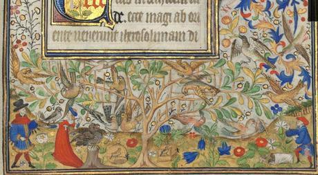 Heures de Marguerite d'Orleans 1430 ca BNF Latin 1156B fol 15r Gallica detail