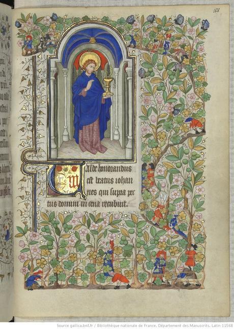 Heures de Marguerite d'Orleans 1430 ca BNF Latin 1156B fol 168r Gallica