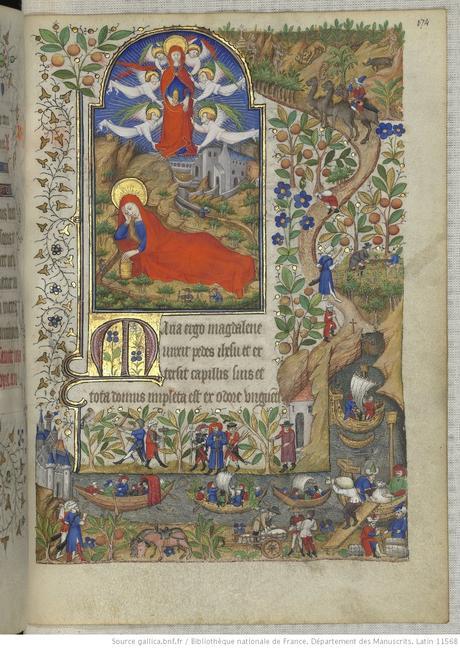 Heures de Marguerite d'Orleans 1430 ca BNF Latin 1156B fol 174r Gallica