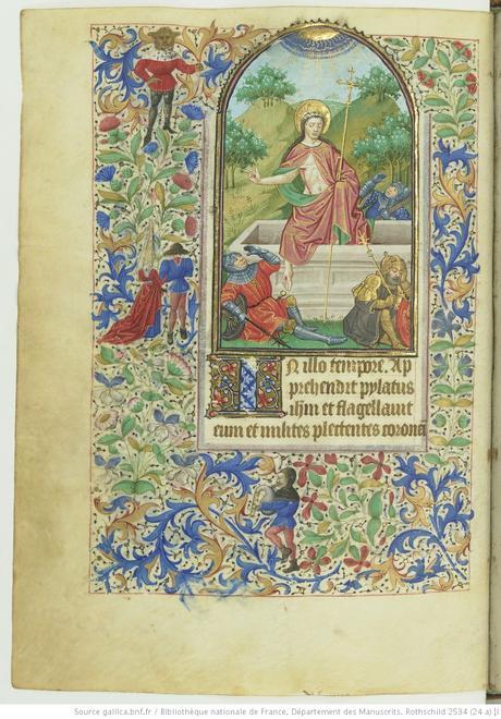Livre d'heures (Paris, BnF. ms. Rothschild. 2534 fol 20v