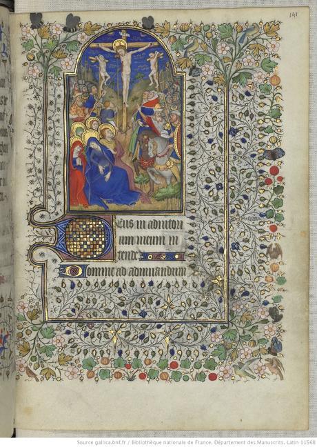 Heures de Marguerite d'Orleans 1430 ca BNF Latin 1156B fol 141r Gallica