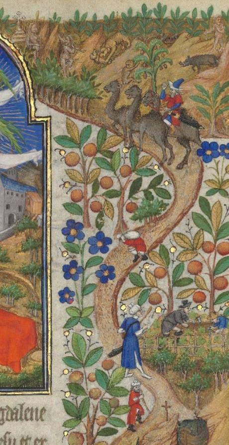 Heures de Marguerite d'Orleans 1430 ca BNF Latin 1156B fol 174r Gallica detail