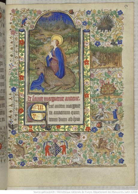 Heures de Marguerite d'Orleans 1430 ca BNF Latin 1156B fol 176r Gallica
