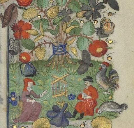 Heures de Marguerite d'Orleans 1430 ca BNF Latin 1156B fol 89r Gallica devidoir