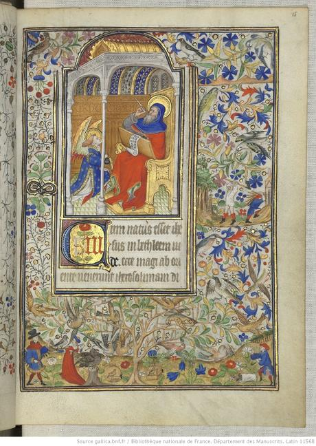 Heures de Marguerite d'Orleans 1430 ca BNF Latin 1156B fol 15r Gallica