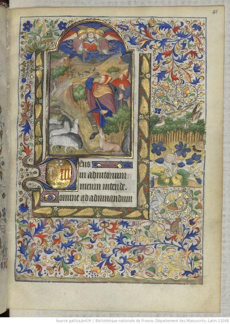 Heures de Marguerite d'Orleans 1430 ca BNF Latin 1156B fol 82r Gallica