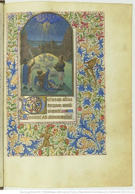Livre d'heures (Paris, BnF. ms. Rothschild. 2534 fol 75r